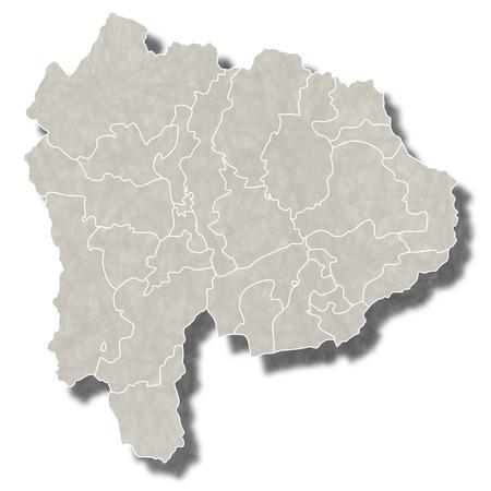 山梨日本地図アイコン