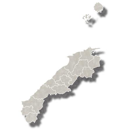 島根日本地図アイコン