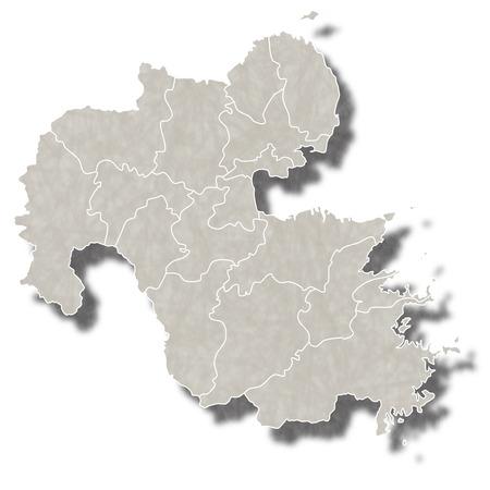 大分日本地図アイコン