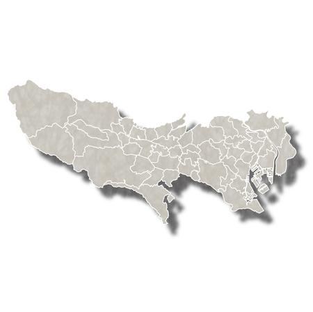 東京日本地図アイコン