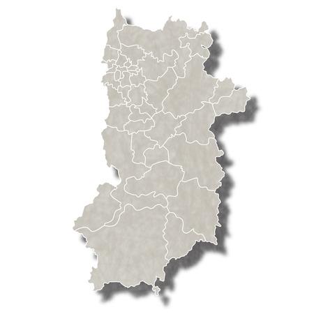 奈良日本地図アイコン