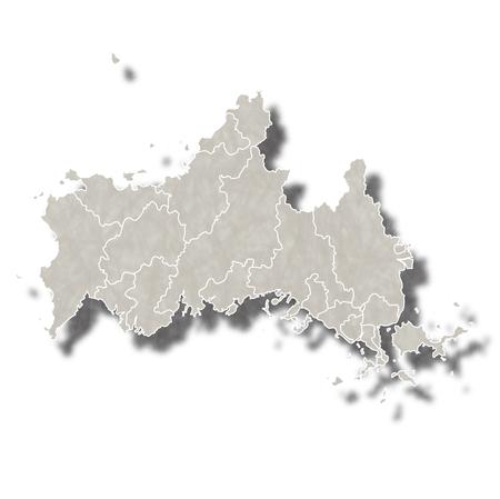 山口日本地図アイコン