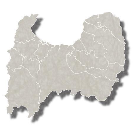富山日本地図アイコン