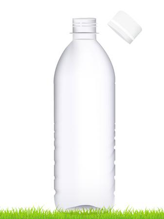 ペットボトル容器キャップ アイコン  イラスト・ベクター素材