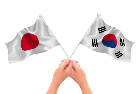 paul: Japan Korea Flag icon