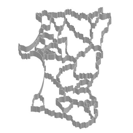 秋田県地図フレーム アイコン