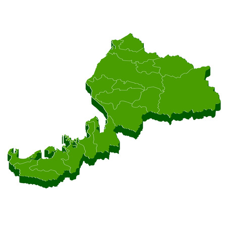 福井県マップ フレーム アイコン