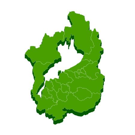 滋賀県地図フレーム アイコン