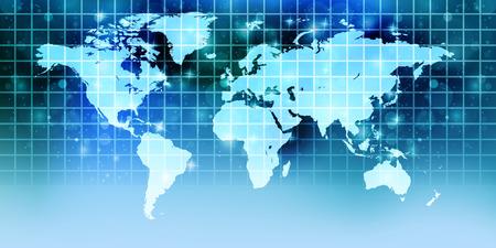 世界地図背景紙