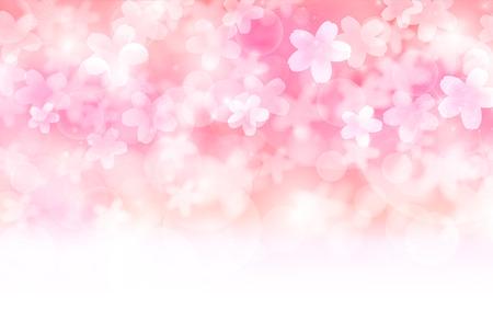 Cherry spring flower background Vettoriali