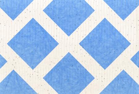 海夏の和紙の背景  イラスト・ベクター素材