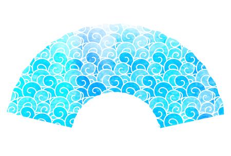 icon: Ocean wave summer icon