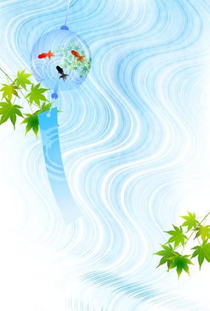 Goldfish River Maple background