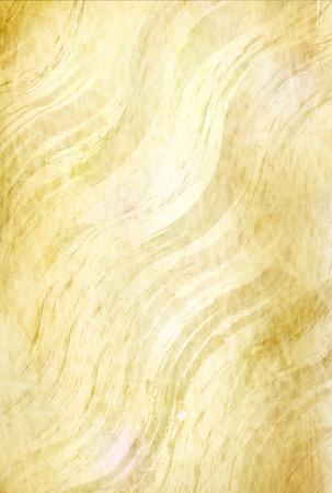 Gold paper river texture Illustration