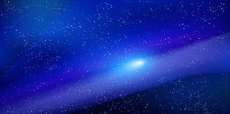 스타 축제 은하수의 밤하늘 배경