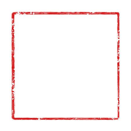 フレーム スタンプ赤いアイコン