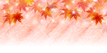 Maple leaf tree background