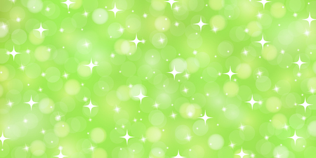 New green light scenery background