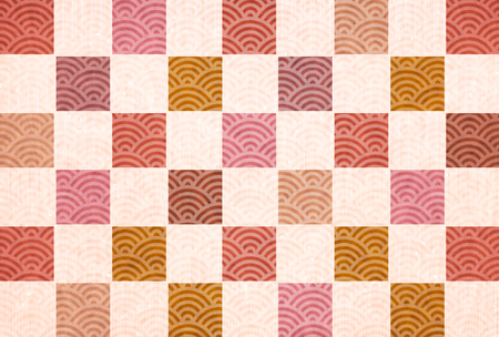Japanese paper autumn background texture