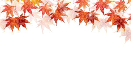 Le foglie di autunno cadono sfondo di carta giapponese Archivio Fotografico - 80369432