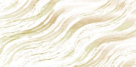 金の紙金川背景  イラスト・ベクター素材