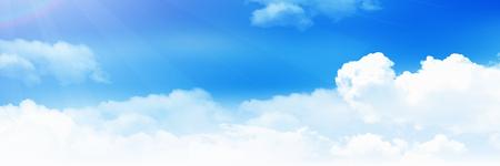 Sky cloud landscape background Çizim