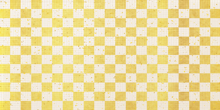 Japanese paper gold check background