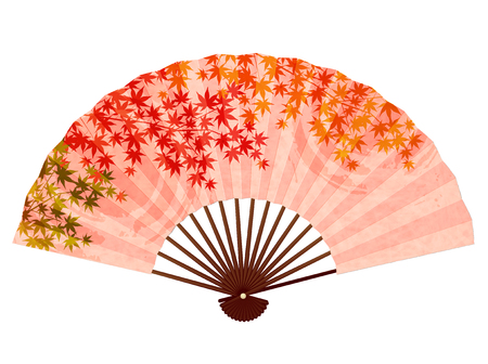 Maple autumn leaf icon Illustration
