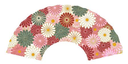Chrysanthemum autumn flower icon