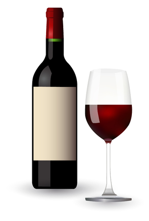 Wine grape glass icon
