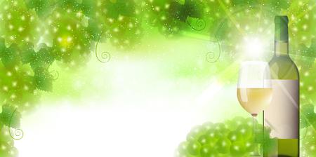 Wijndruiven glas achtergrond