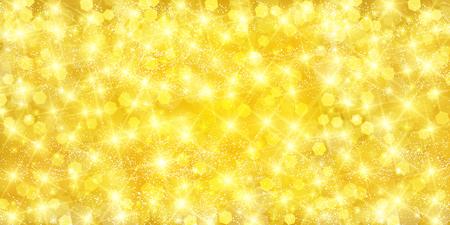 Christmas gold light background