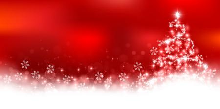 Christmas snow scenery background