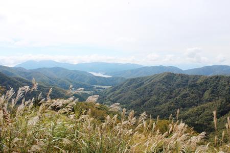 Back Bandai Mountain Landscape Background
