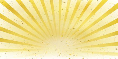 Achtergrondmalplaatje met zon die in gele kleur toeneemt Stockfoto - 91357555