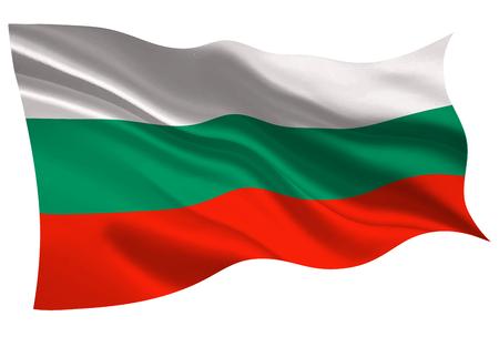 Bulgaria national flag flag icon
