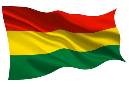 Bolivia national flag flag icon