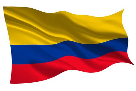 컬럼비아 국기 아이콘