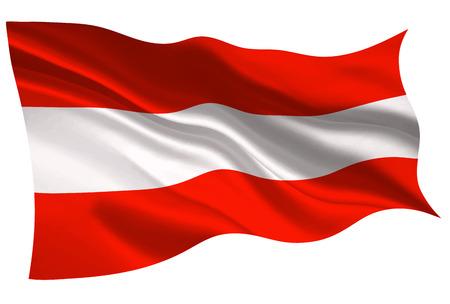 Austria national flag flag icon