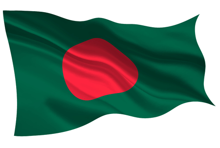 Bangladesh national flag flag icon Ilustrace