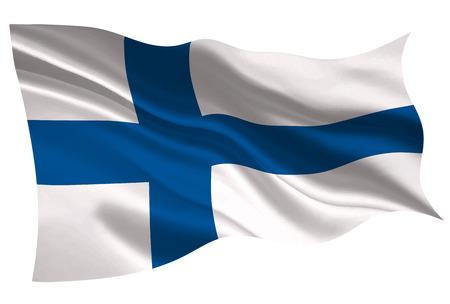 Finnland Nationalflagge Flaggensymbol