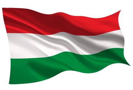 Hungary national flag flag icon