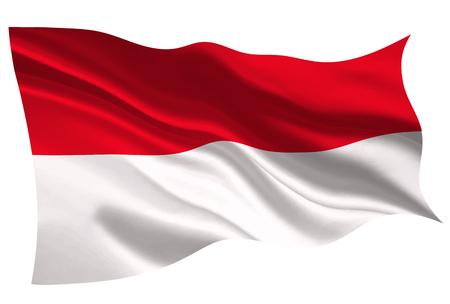 indonésie drapeau national drapeau icône