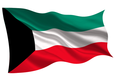 Kuwait national flag flag icon