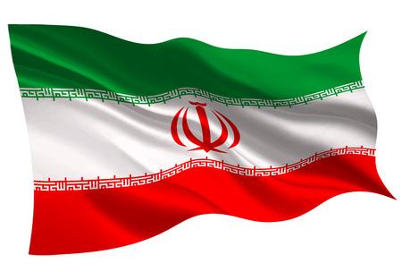 이란 국기 아이콘 일러스트