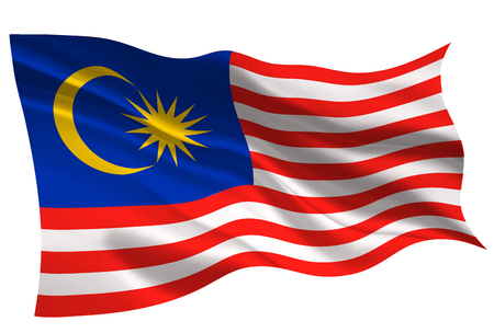 malaisie drapeau national drapeau icône Vecteurs