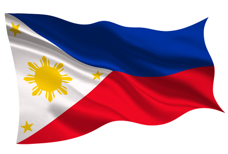 Philippines national flag flag icon 版權商用圖片 - 93271879