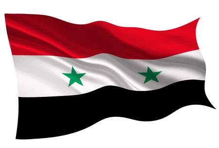 Syria national flag flag icon