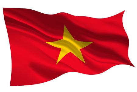 Vietnam national flag flag icon