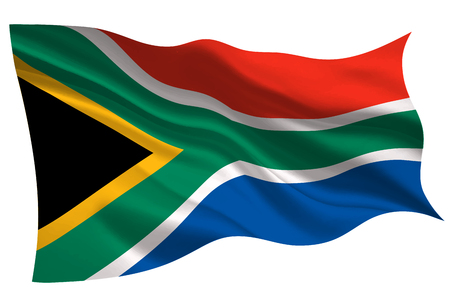 South Africa national flag flag icon